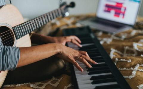 piano vs guitar