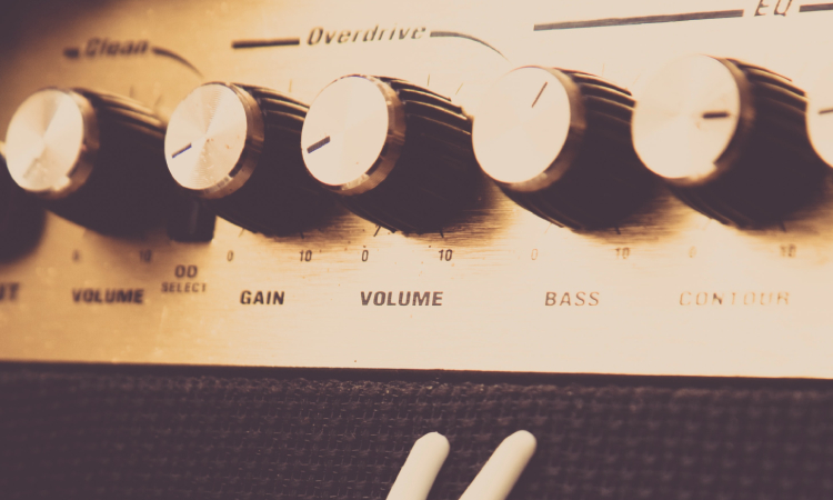 how to set gain on an amp