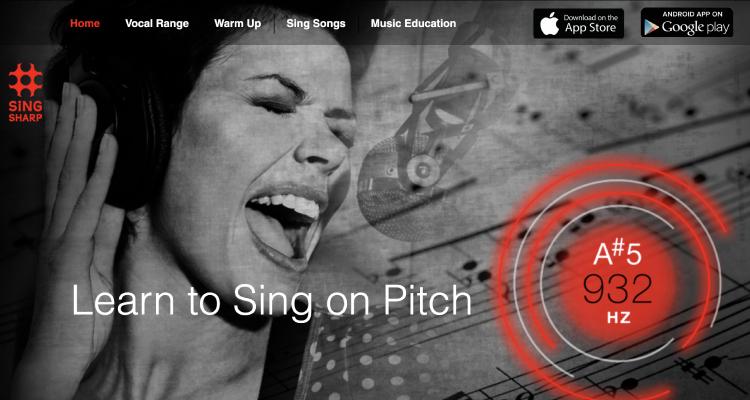 sing sharp app