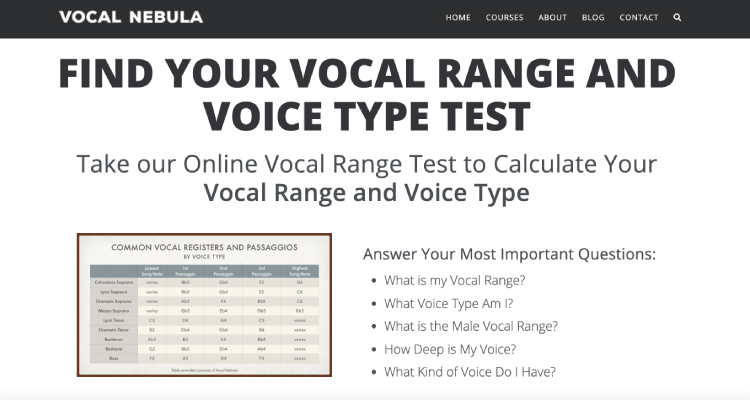vocal nebula website