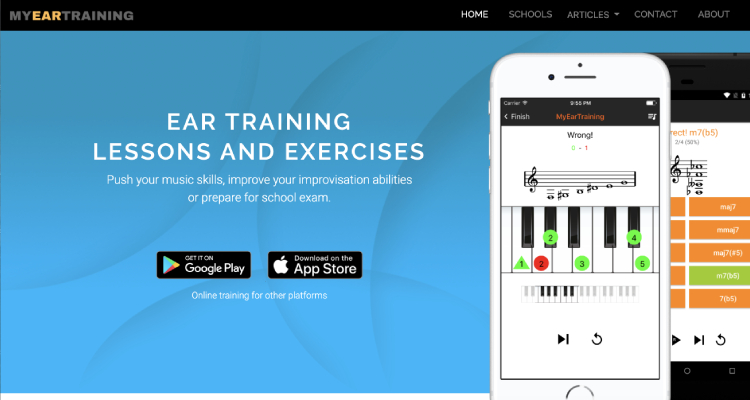 MyEarTraining App (Android / iOS)