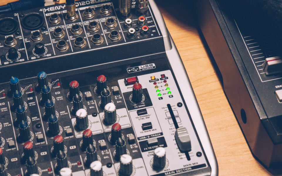 Best Small Mixers for Live Performances With Effects