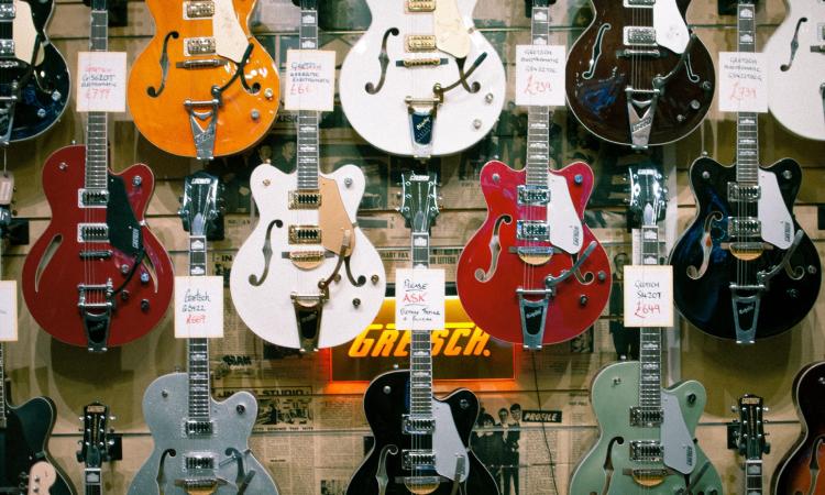 trading in guitar at guitar center